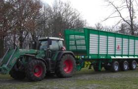 Прицепы для транспортировки зелёной массы Annaburger HTS серии 03